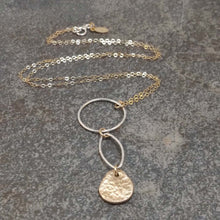 Load image into Gallery viewer, Abigail - Silver and Gold Necklace