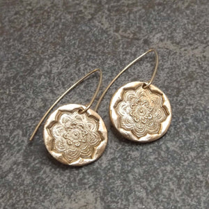 Brynn - Mandala Earrings
