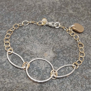 Abigail - Gold and Silver Bracelet