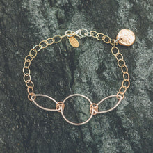 Load image into Gallery viewer, Abigail - Gold and Silver Bracelet