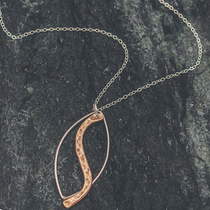 Abigail - Gold And Silver Necklace