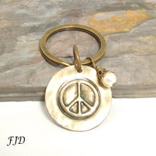 Load image into Gallery viewer, Peace - Key Fob  Key Chain
