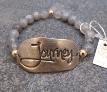 Load image into Gallery viewer, Journey -  Stretch Bracelet