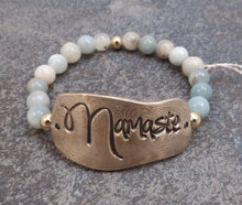 Load image into Gallery viewer, Namaste-  Stretch Bracelet