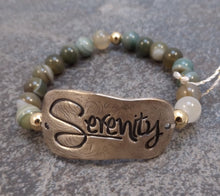 Load image into Gallery viewer, Serenity-  Stretch Bracelet
