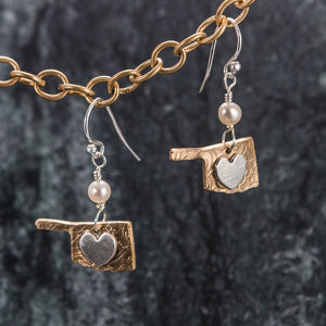 State Jewelry - Oklhoma Earrings
