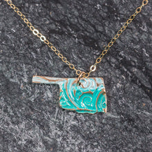 Load image into Gallery viewer, State Jewelry - Oklahoma Necklace