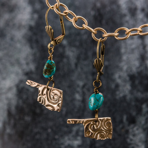 State Jewlery - Oklahoma Earrings