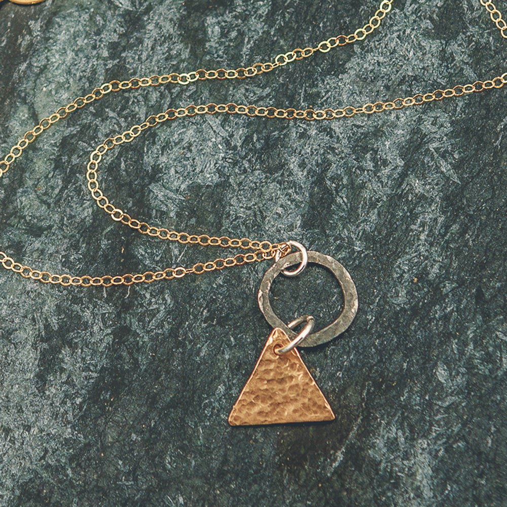 Sophie - Geometric Necklace