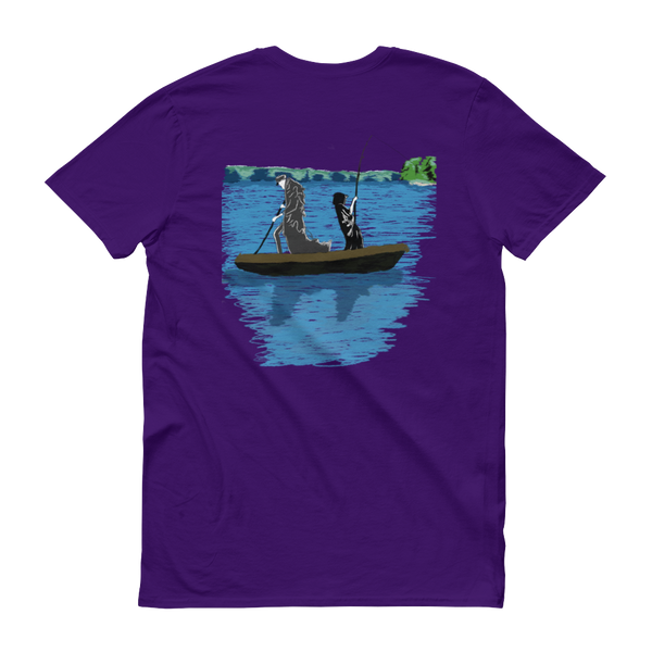 Hug an Artist - Death Fishing - Short sleeve t-shirt