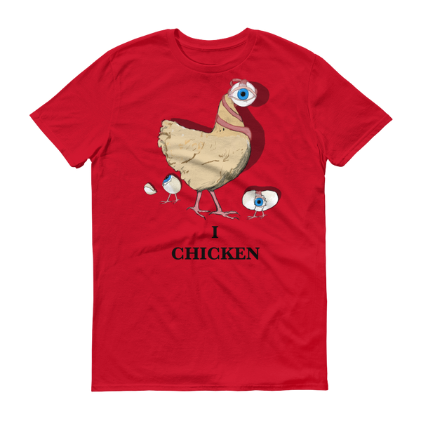 I Chicken - Short sleeve t-shirt