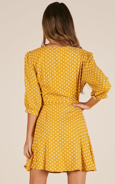 Coralie Polka Dot Dress
