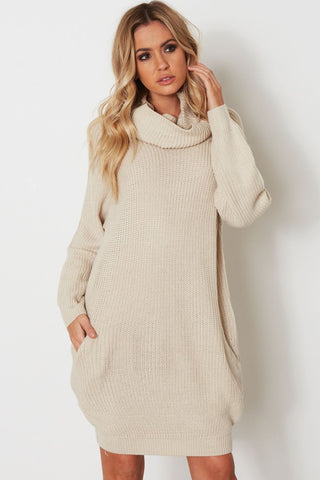 Adelaide Turtleneck Sweater Dress
