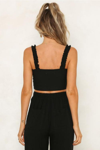 Jaydlyn Cropped Cami Top