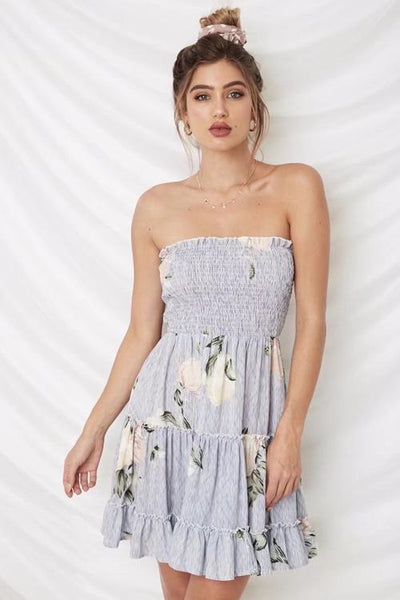 Sabrina Tiered Ruffle Dress