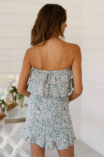 Carrah Strapless Mini Dress