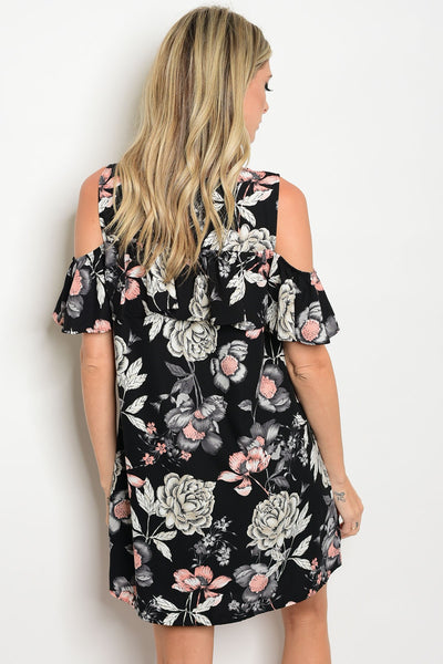 [FINAL SALE] Kelcey Cold Shoulder Dress