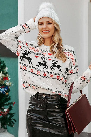 Christmas Reindeers Sweater