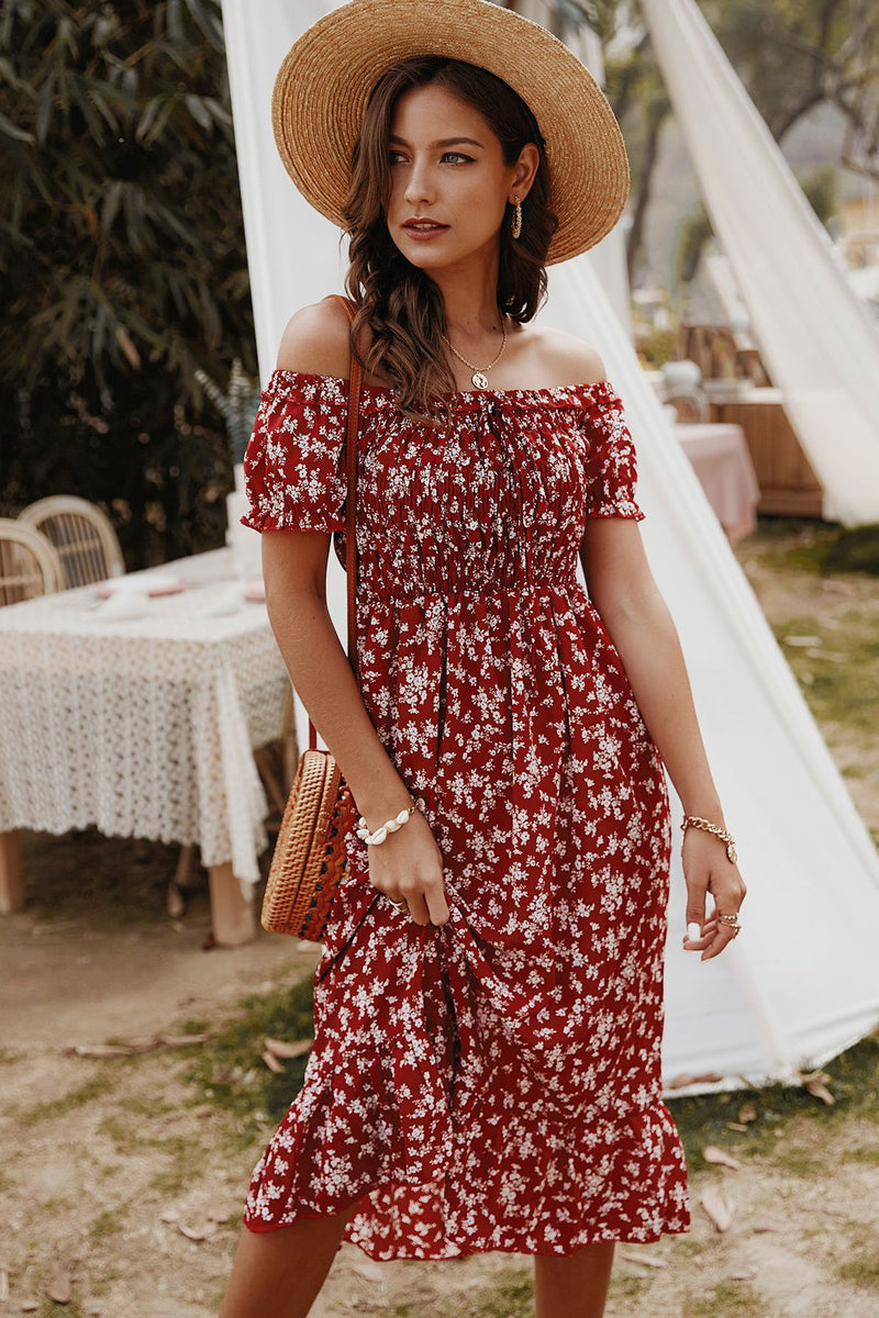 Kyla Off-The-Shoulder Dress