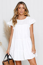Load image into Gallery viewer, Darla Tiered Babydoll Dress