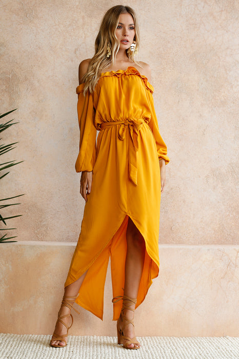 Georgina Split Maxi Dress
