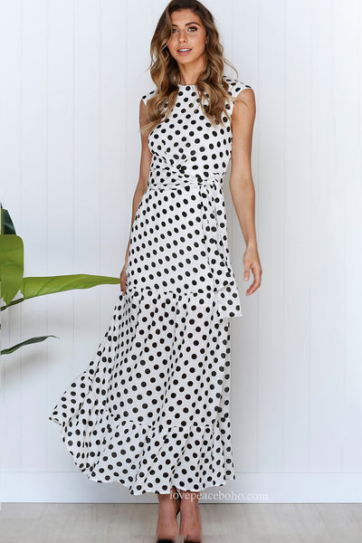 Ever Dotted Maxi Dress
