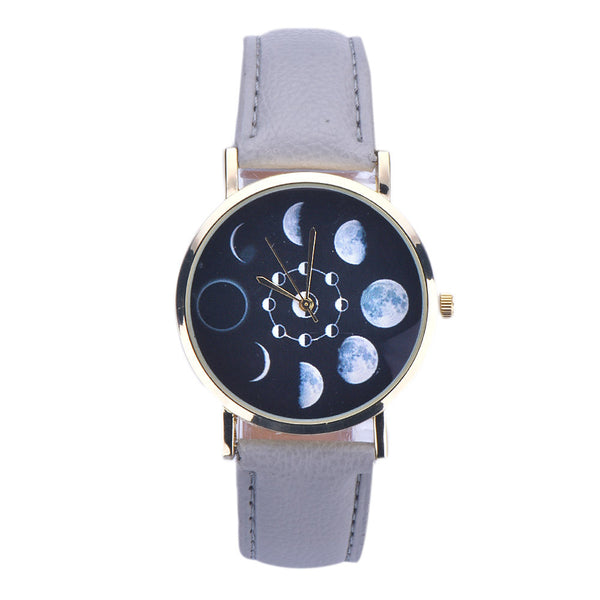 Lunar Eclipse Analog Watch