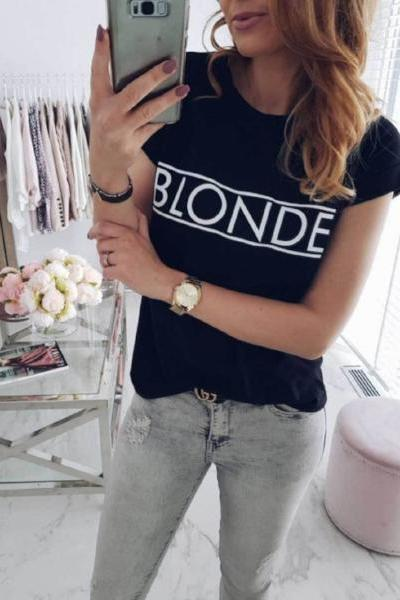 Blonde / Brunette T-Shirt