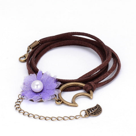 Multi-layer Leather Bracelet, Bracelet, lovepeaceboho