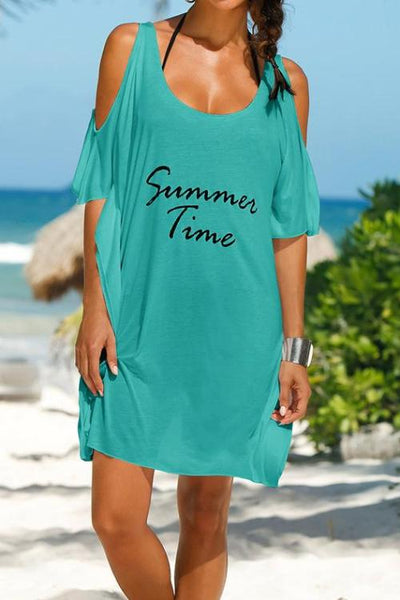 "[FINAL SALES] ""Summer Time"" Shirt Dress"