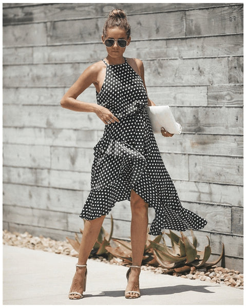 Adira Polka Dots Dress