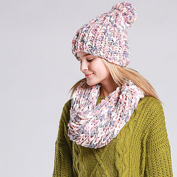 Ella Knit Hat and Scarf Set