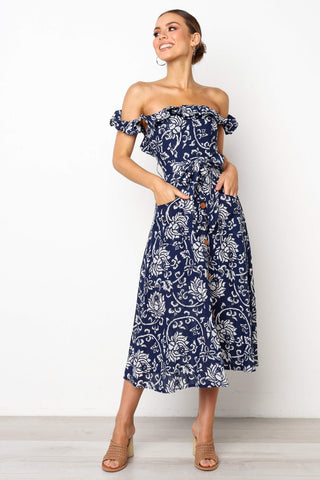 Embrace Dress In Floral