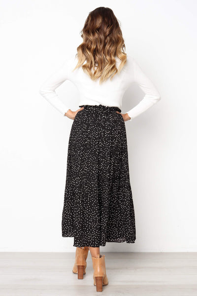 Giana Dotted Midi Skirt