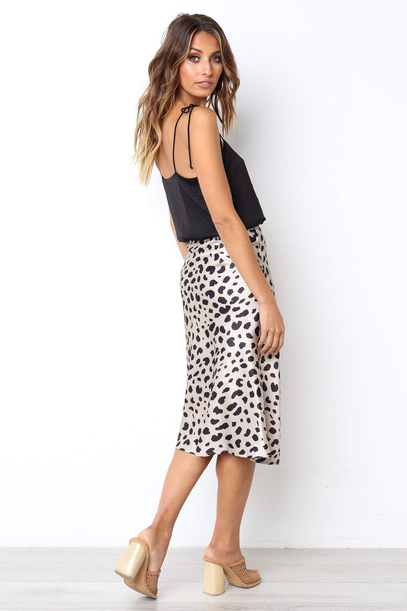 Sidney High-Waist Skirt