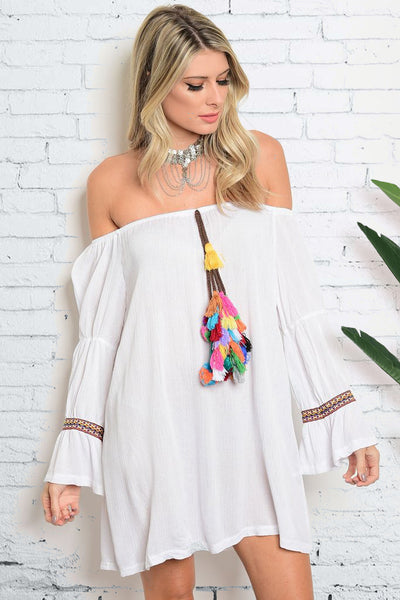Joya Off Shoulder Dress