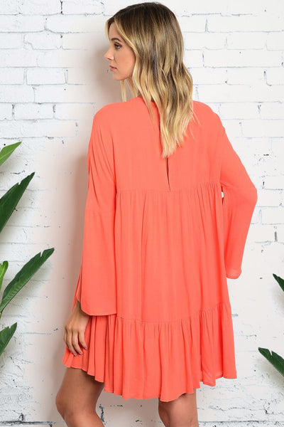 [FINAL SALE] Lose Myself Dress In Peach