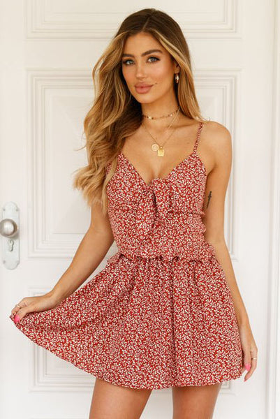 Kygo Ditsy Floral Dress