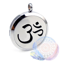 Load image into Gallery viewer, Om Mantra 25-30mm Aromatherapy Diffuser Locket