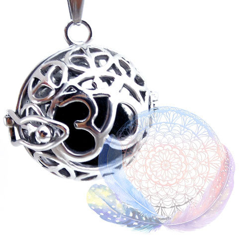 Om Essential Oil Diffuser Spherical Pendant