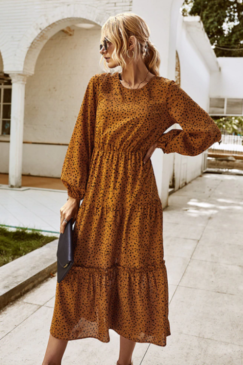 Alysa Tiered Boho Dress