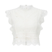 Load image into Gallery viewer, Aylana Lace Crochet Top