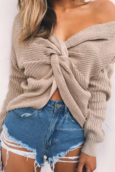 Dael Knotted Sweater