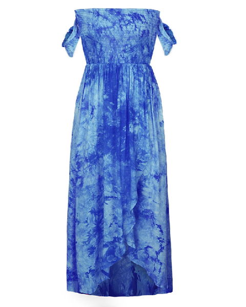 Bela Tie-Dye Split Dress