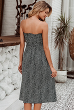Load image into Gallery viewer, Brenda Strapless Midi Dress