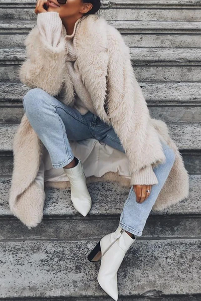Carlien Faux Fur Coat