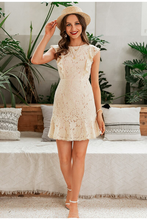 Load image into Gallery viewer, Carlile Ruffled Lace Dress