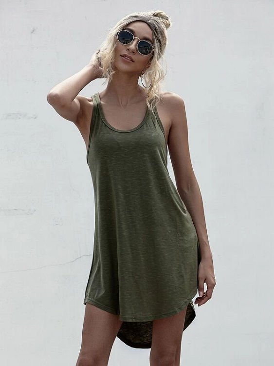 Carmela Racer Back Tank Dress