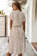 Load image into Gallery viewer, Carmen Tie-Waist Midi Dress