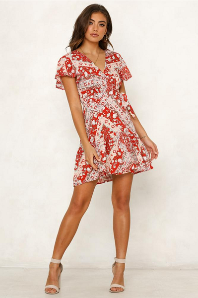 Dance Away Mini Dress